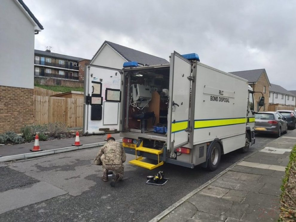 eod called to following war time discovery in dartford