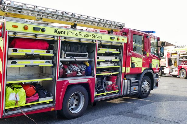 fire crew tackle blaze in rochester