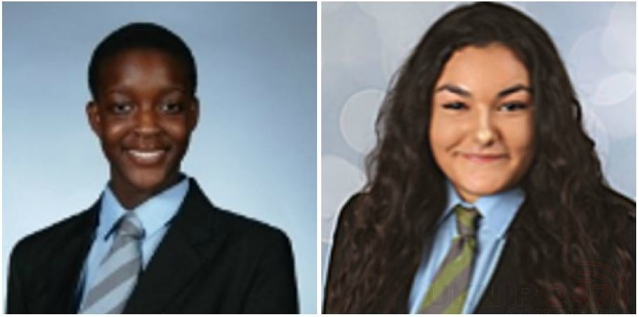 information is sought to locate two teenage girls who have been reported missing from gravesend