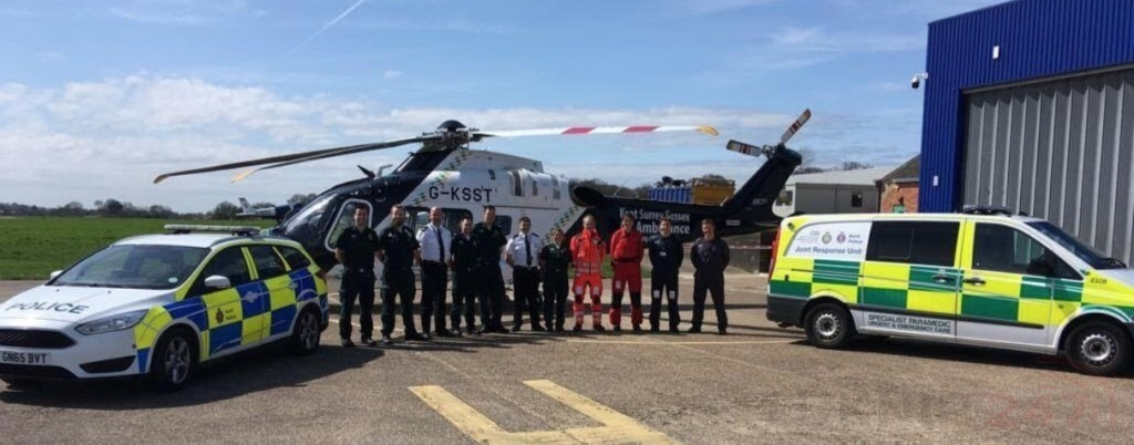 Joint Partnership Unit With  Cops And Medics Extended Across North Kent
