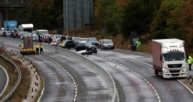 polish lorry driver jailed after fatal m20 motorway collision killed motorcyclist 2