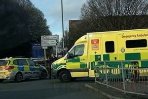 road in bexleyheath closed after pedestrian is hit by a vehicle