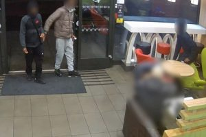 three teenagers have been arrested for robbery following yesterdays appeal