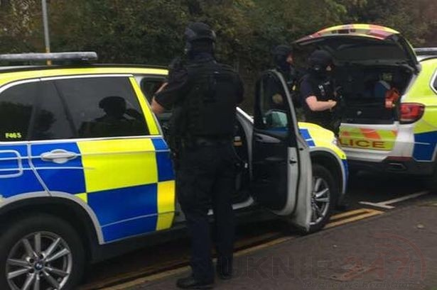 two men arrested by officers investigating greenhithe shooting