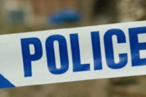 a folkestone man has been charged with arson after a police car was set on fire while officers attended an emergency call