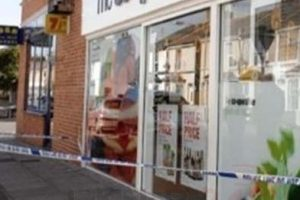 a suspected burglar has been charged after the co op in deal was targeted