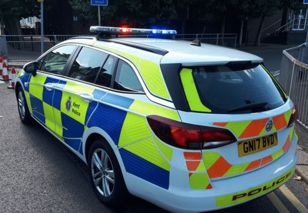 a suspected moped thief has been arrested after a vehicle was stolen in canterbury