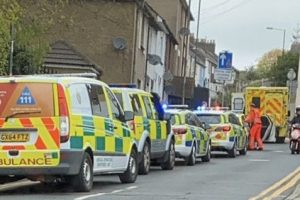 armed police called to property in strood