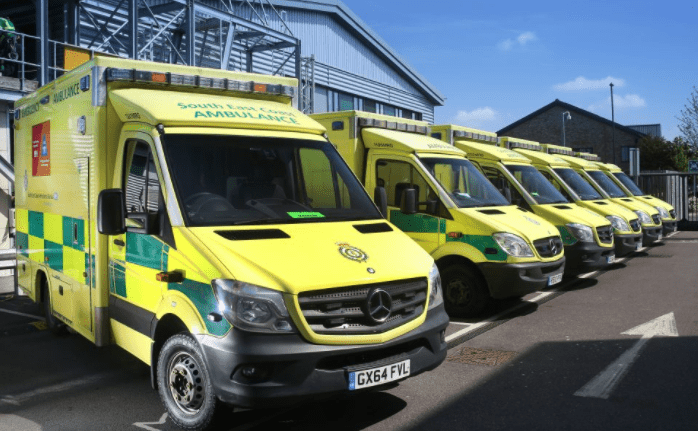 arrest made in connection with ambulance damage in thanet