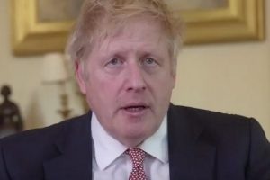 boris johnson prime minister first message since leaving hospital