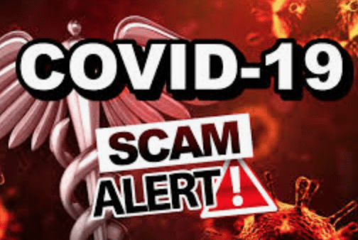 covid19 phone scam claiming we need to wear masks