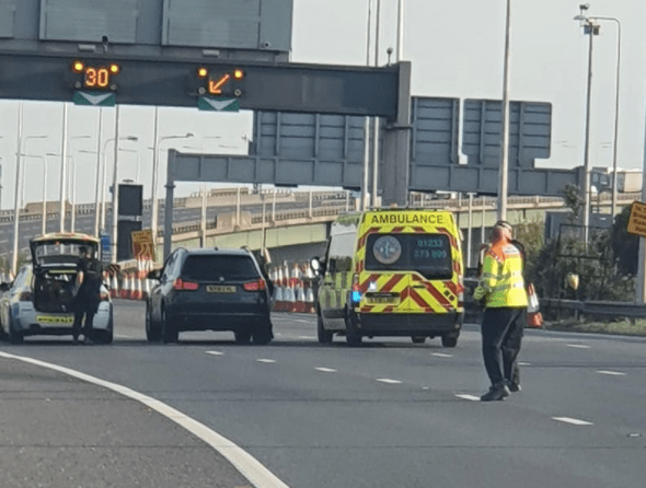 dartford crossing closed following police incident