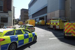 emergency services called to distressed man on a roof in folkestone 2