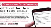 fake tesco emails are offering free vouchers during the coronavirus outbreak