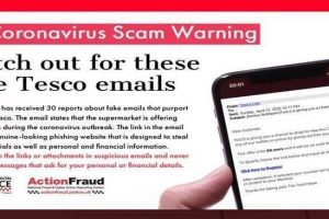 Fake Tesco emails are offering 'free vouchers' during the coronavirus outbreak
