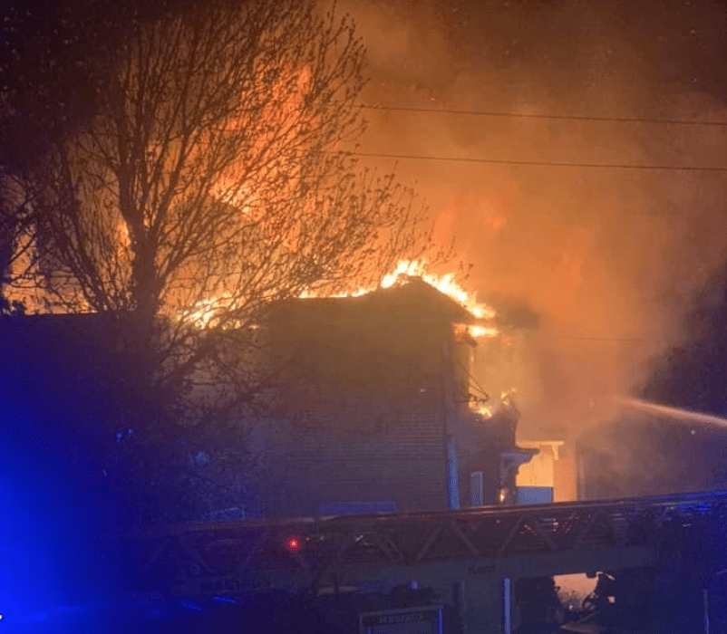 fire crews called to arson attack at derelict pub in canterbury