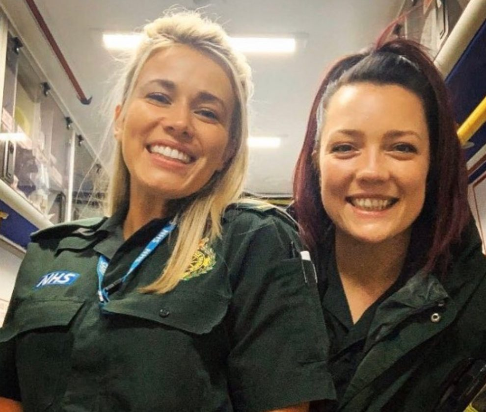 first dates waitress laura tests positive for coronavirus working as a paramedic