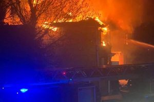 joint arson attack launched after canterbury fire
