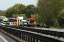 M2 motorway closed after serious collision near Faversham leaving five mile jam
