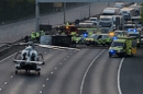 M20 motorway in Kent  closed after overturned vehicle