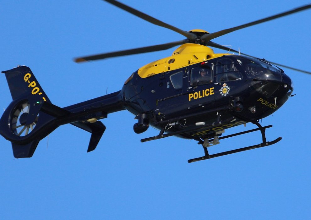 police air support called to sidcup area of kent following police incident