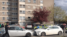 police give chase to vehicle abandoned slade green