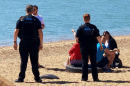 "Police officers have been dealing with a number of groups of people who decided they ""fancied a day at the beach"" today"