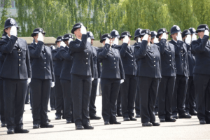 police ranks across england and wales have been bolstered with an additional 3005 officers since the government launched a major recruitment drive