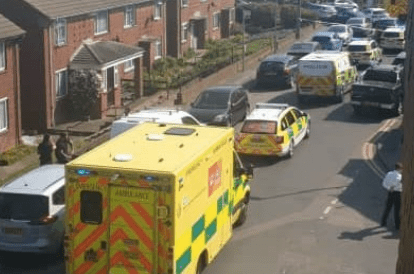 two people have been arrested and enquiries continue to take place following a large gathering in sittingbourne