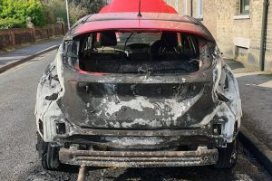 witness sought after vehicle are torched