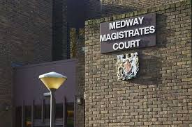 a burglary charge has been authorised against a man accused of stealing a television from a chatham home