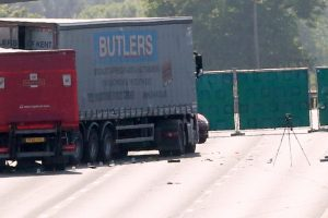 a2 remains closed following life changing collision involving two hgv and car 5