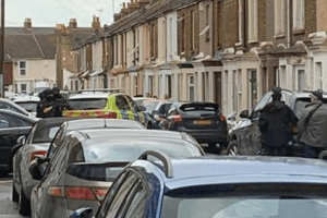 armed police called to a disturbance on the island of sheppey