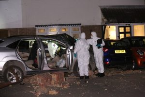 gun left on driveway after 100k smash in grays 6