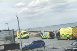 hart team called to whitstable beach incident