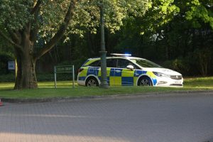 Kings Hill in lock down after  200lb WW2 bomb found