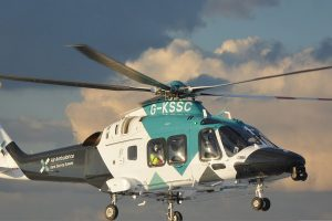 man airflifted after falling from scaffolding in hawkinge