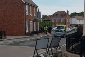 police and paramedics called to serious incident in tenterden