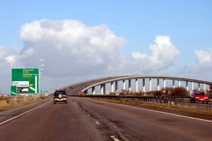 sheppey crossing closed due to broken down vehicle