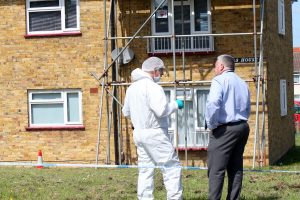 three people have been arrested on suspicion of murder following the death of a man in maidstone
