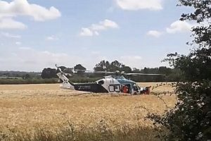 air ambulance called to lenham