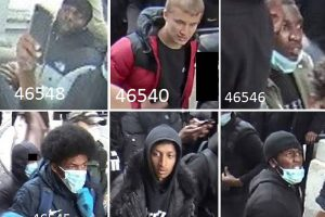 detectives investigating the violent clashes in london at recent demonstrations have released another 12 images of people they want to speak to