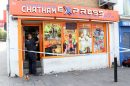 Officers have arrested four men as part of an investigation into an assault in Chatham