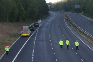 police launch probe after woman is killed in fatal overnight collision on the m20 in kent 5