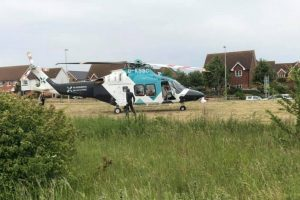 road closed following serious collsion in wainscott