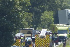 Serious collision investigation launched after vehicle overturns in Hythe