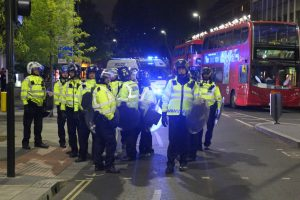 twelve people have been arrested as part of the ongoing demonstrations in central london 3