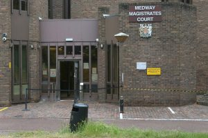 two men have appeared in court charged with burgling a supermarket in margate