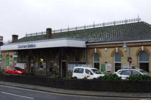 a suspected robber has been charged with two offences in medway