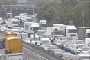 All lanes closed on M25 clockwise and M26 motorway closed following serious collision